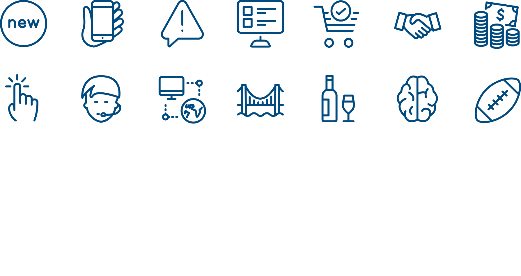 Picons - vector icons
